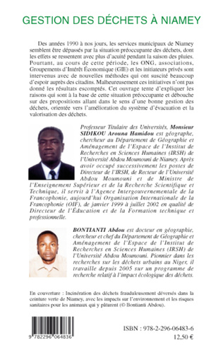 4eme Gestion des déchets à Niamey