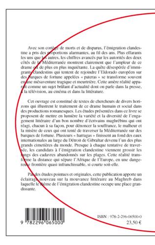 4eme Clandestins dans le texte maghrébin de langue française