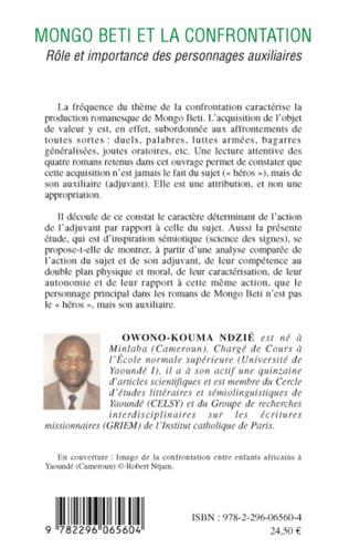 4eme Mongo Beti et la confrontation