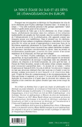 4eme La Tierce Eglise du sud et les défis de l'évangélisation en Europe
