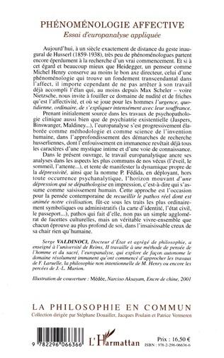 4eme Phénoménologie affective