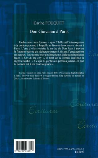 4eme Don Giovanni à Paris