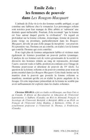4eme Emile Zola : les femmes de pouvoir dans