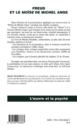 4eme Freud et le Moïse de Michel Ange