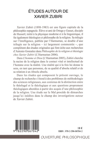 4eme Etudes autour de Xavier Zubiri