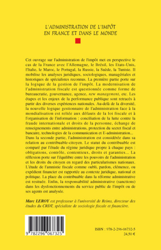 4eme L'administration de l'impôt en France et dans le monde