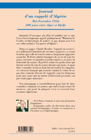 4eme Journal d'un rappelé d'Algérie