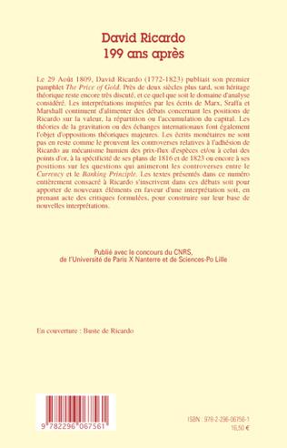 4eme David Ricardo, 199 ans après