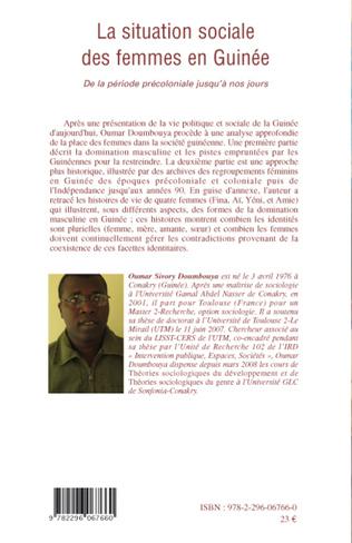 4eme La situation sociale des femmes en Guinée