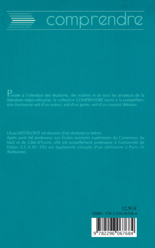 4eme Comprendre Cahier d'un retour au pays natal d'Aimé Césaire