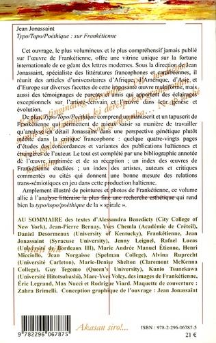 4eme Typo/Topo/Poéthique : sur Frankétienne
