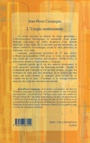 4eme L'Utopie sentimentale