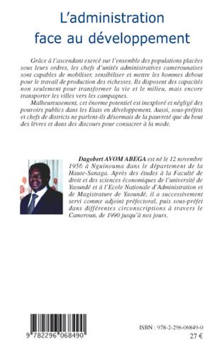 4eme L'administration face au développement