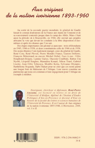 4eme Aux origines de la nation ivoirienne 1893 - 1960 (volume III)