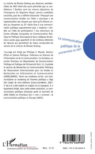 4eme La communication politique de la présidentielle de 2007
