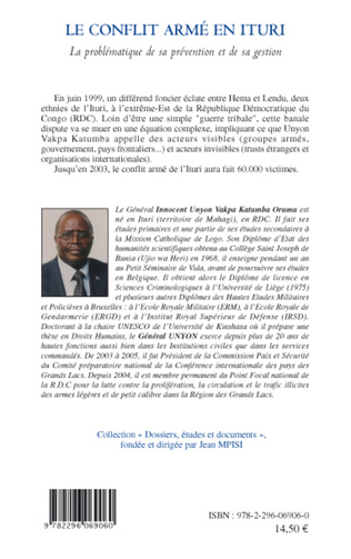 4eme Le conflit armé en Ituri (RDC)