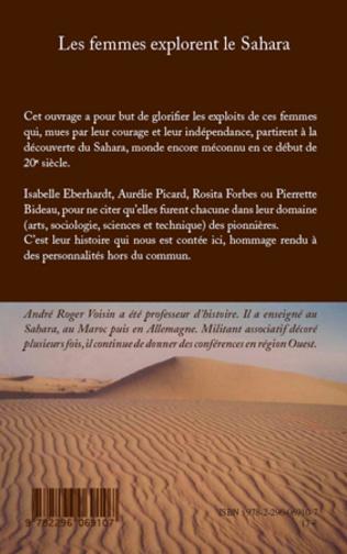 4eme Les femmes explorent le Sahara