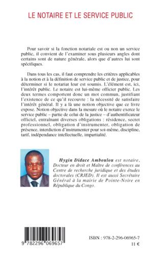 4eme Le notaire et le service public