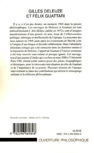 4eme Gilles Deleuze et Félix Guattari