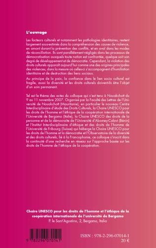 4eme Droits culturels et traitement des violences