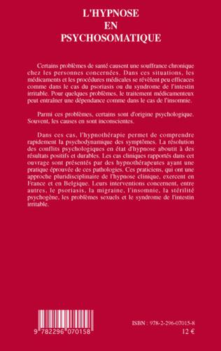 4eme L'hypnose en psychosomatique