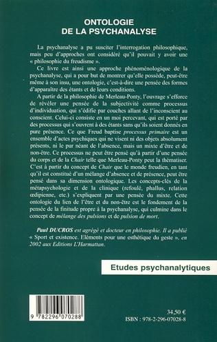 4eme Ontologie de la psychanalyse