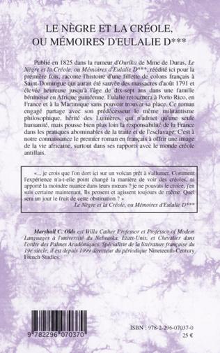4eme Le Nègre et la créole