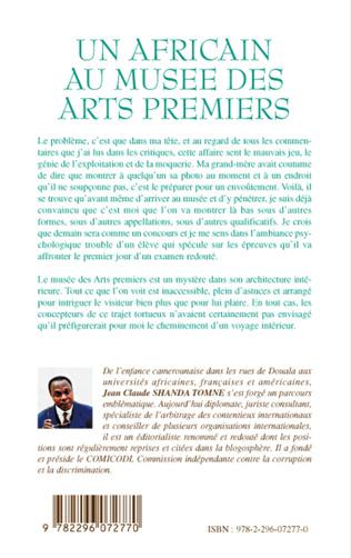 4eme Un africain au musée des arts premiers