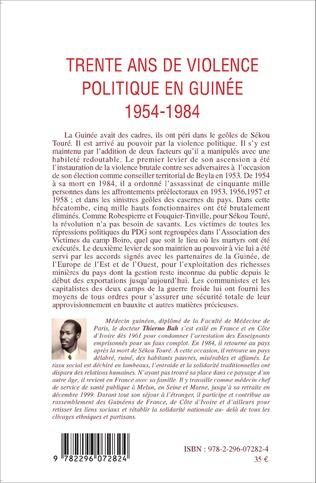 4eme Trente ans de violence politique en Guinée