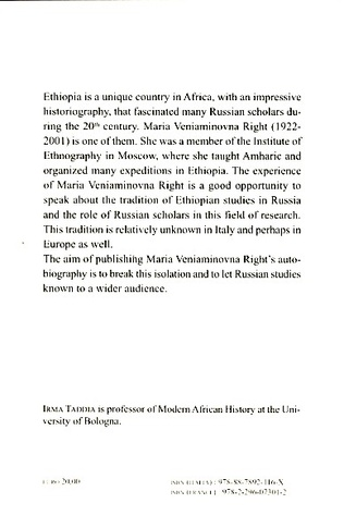 4eme Russian ethnographers and the horn of Africa (20th century)