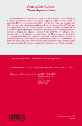 4eme Contre-culture et cinéma : Dennis Hopper à l'oeuvre