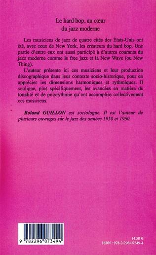 4eme Le hard bop, au coeur du jazz moderne