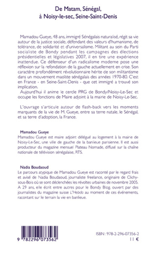4eme De Matam, Sénégal à Noisy-le-sec, Seine-Saint-Denis