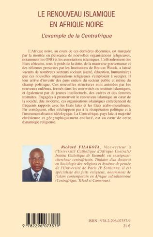 4eme Le renouveau islamique en Afrique noire