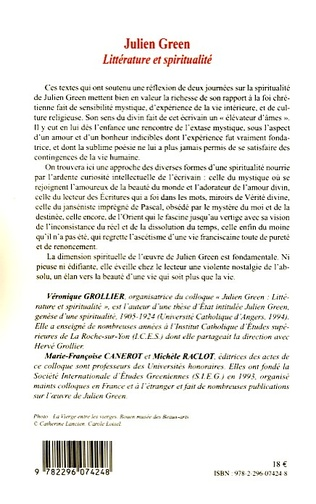 4eme Julien Green