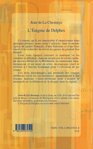4eme L'Enigme de Delphes