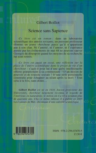 4eme Science sans Sapience