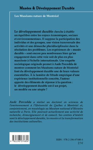 4eme Musées et développement durable