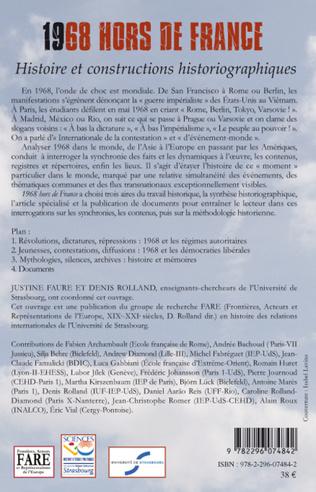 4eme 1968 hors de France