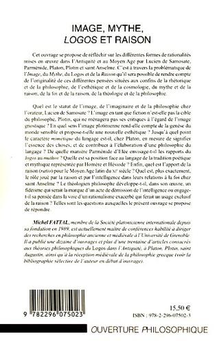 4eme Image, mythe, Logos et raison