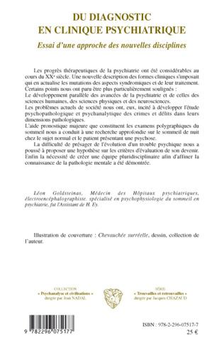 4eme Du diagnostic en clinique psychiatrique
