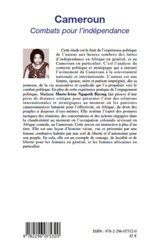 4eme Cameroun combats pour l'indépendance