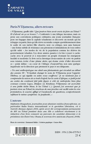 4eme Paris-N'Djamena allers-retours