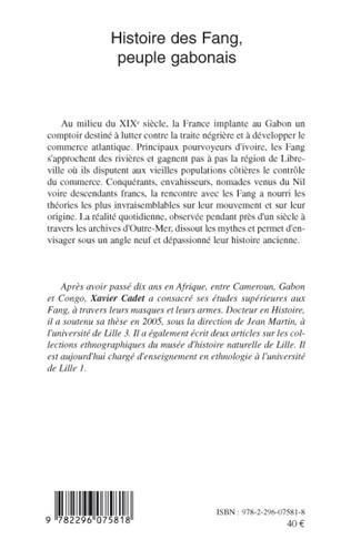 4eme Histoire des Fang, peuple gabonais