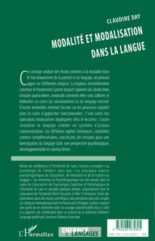4eme Modalité et modalisation dans la langue