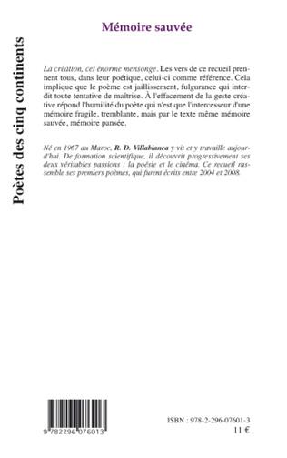 4eme Mémoire sauvée