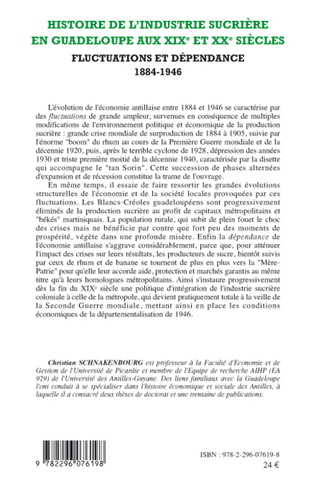 4eme Histoire de l'industrie sucrière en Guadeloupe aux XIXe et XXe siècles