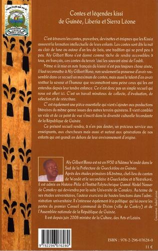 4eme Contes et légendes kissi de Guinée, Liberia et Sierra Léone