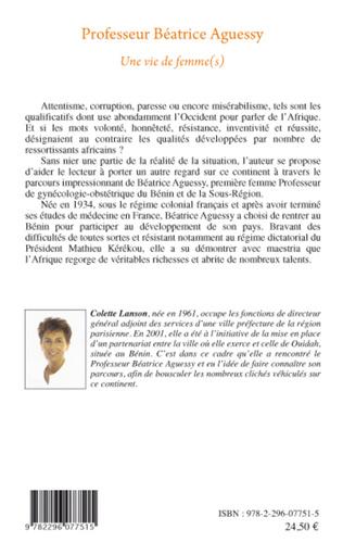 4eme Professeur Béatrice Aguessy