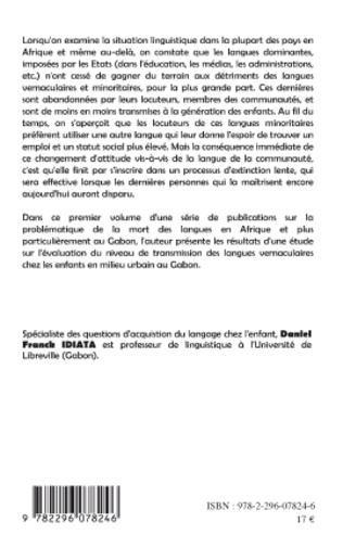 4eme Langues en danger et langues en voie d'extinction au Gabon